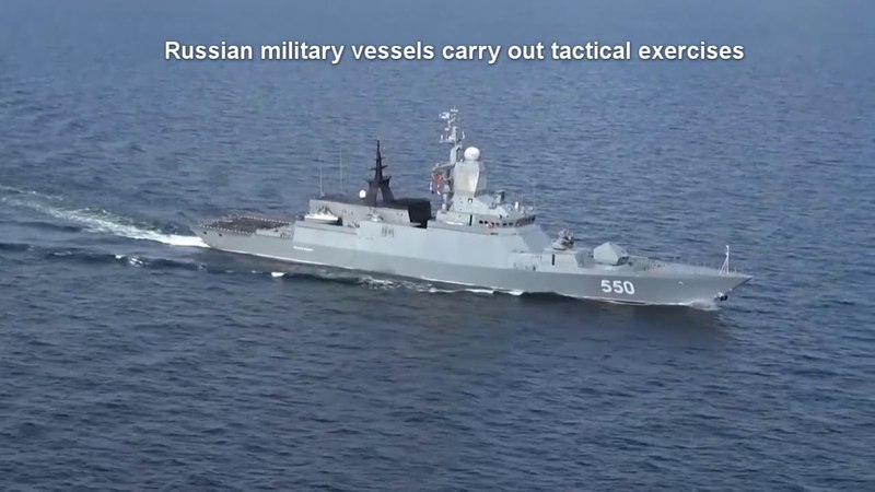 Russia's Baltic Sea Fleet holds life exercises near SWEDEN, POLAND and LATVIA