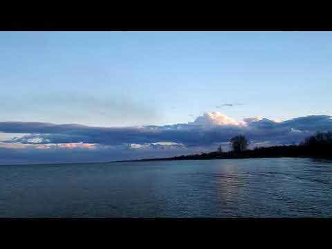 Вечерний Днестровский лиман. / Evening Dnestrovskiy estuary.