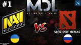 NaVi vs SM #1 (BO3) | MDL Major | CIS | 22.03.2018