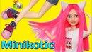 КУКЛА МИНИКОТИК ❤️ АУТФИТ / ООАК часть 3 / Minikotic ★ Play / Muza Rukodeliya 🌺