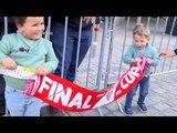 Largas colas en las taquillas para las entradas de la Final de Copa del Rey. 080418. Sevilla FC