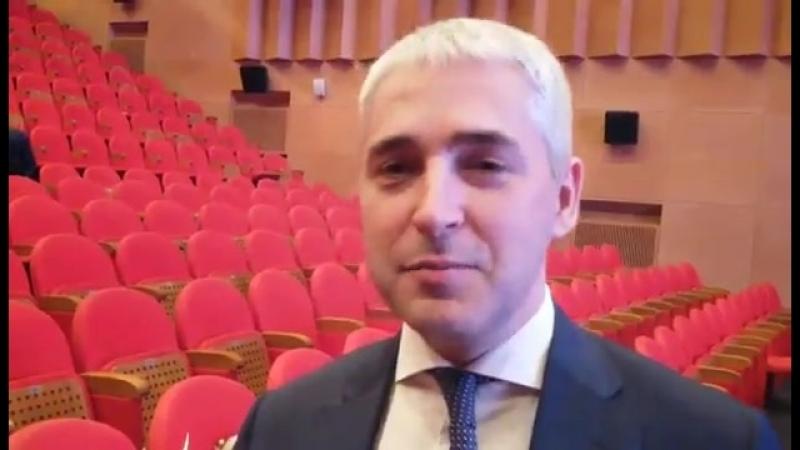 Алексей Романов поздравляет НТИА МИГ с победой в региональном конкурсе Летящий голубь