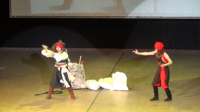 Команда Боевая Выпечка! - (Синдбад: Легенда семи морей, Пираты Карибского моря))