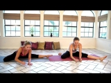 Растяжка на шпагат. 12-минутная тренировка для начинающих