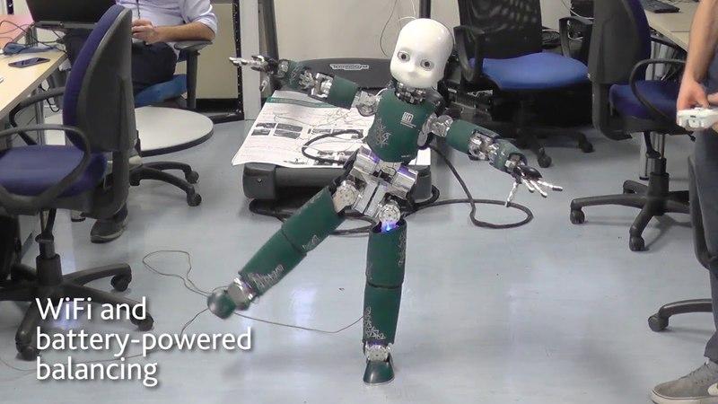 ICub dynamic balancing and walking