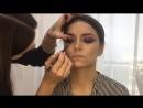 Яркий макияж и укладка для фото от mua_mag