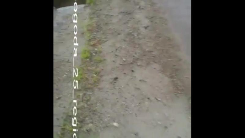 Дорога со стороны Красного ярв в Тереховку... Погода в городах России 07.08.2017