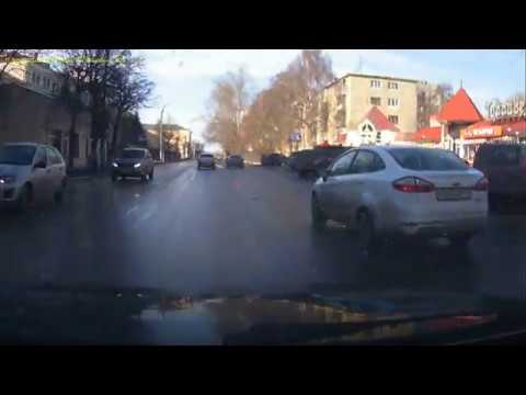Дтп Рязань перекресток Каширина-семинарская 25.03.2018