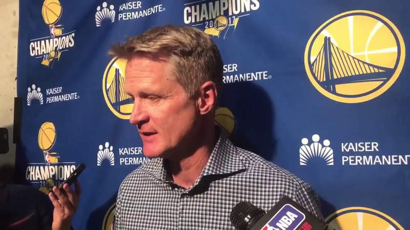 Steve Kerr goes positive after this 40 point blowout loss to close regular season