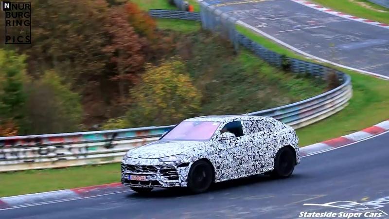 Lamborghini Urus Testing on the Nürburgring Nordschleife!