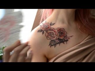 E.Tru.Tattoo - Розы и лаванда