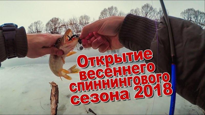 Открытие весеннего спиннингового сезона 2018 на Дону | Спиннинг в начале апреля