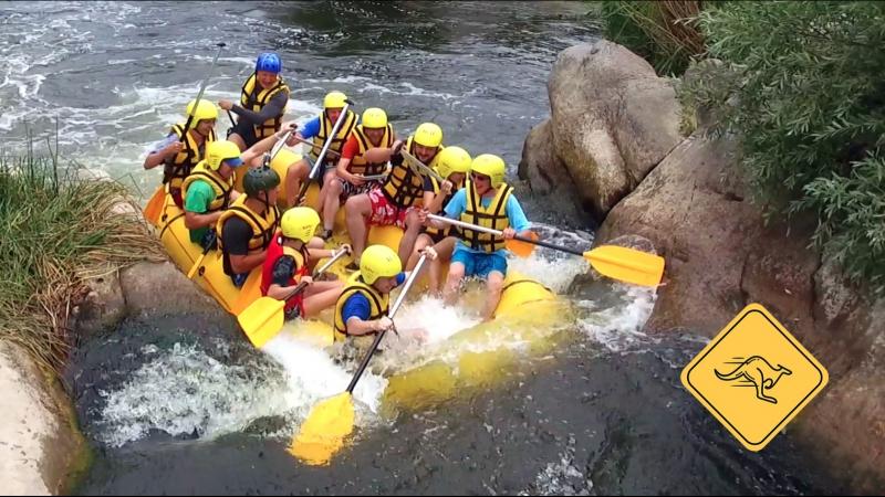 Рафтинг с авантюристами