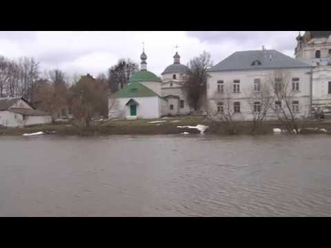 Разлив в Гагарине Река Гжать Spill in Gagarin the River Gzhat