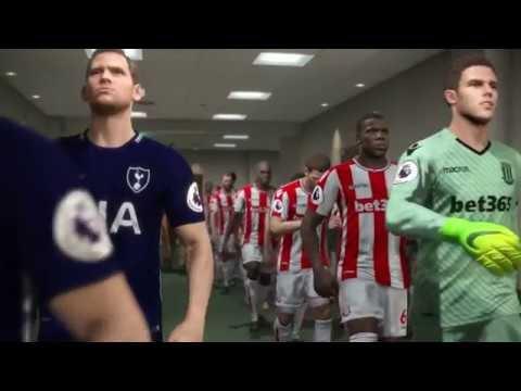 Stoke City vs Tottenham 2018 / Full Match Goals / PES 2018 Gameplay PC