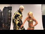 Mandy Rose Touches Goldust Private part | WWE Mixed Match Challenge 2018