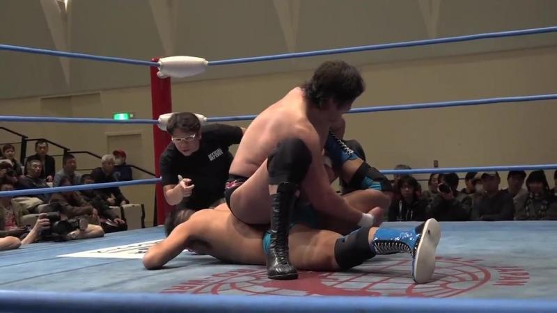 Yutaka Yoshie, Atsushi Aoki, Yusuke Okada vs. Takao Omori, Ultimo Dragon, Josh Bodom (AJPW - Champion Carnival 2018 - Day 2)