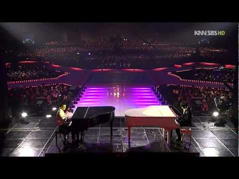 TaeYang VS Xiah Junsu Piano Battle Live 2008-12-29 HD