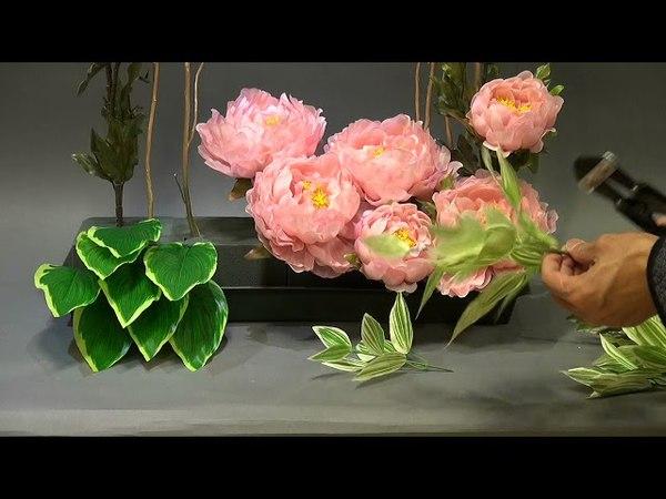 R21-B119 Silk Flower Arrangement Demo