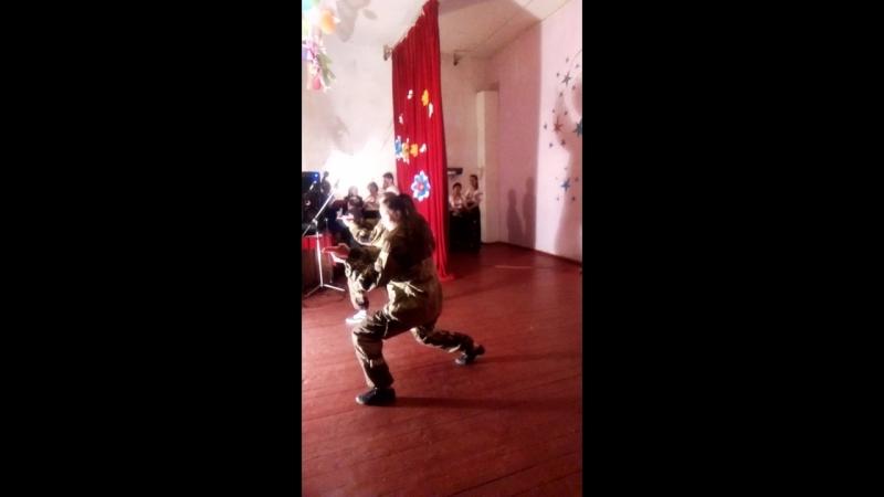 Отчетный концерт клуба п.Энгельсово. Поединок ката традиционного карате-до.