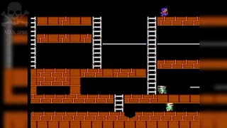 [Famiclone-50HZ]LA59 Lode Runner - Gameplay