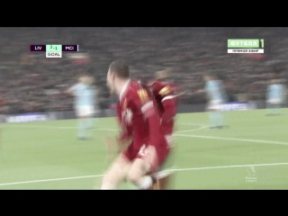 Sadio Mané - Great Goal Liverpool Manchester City