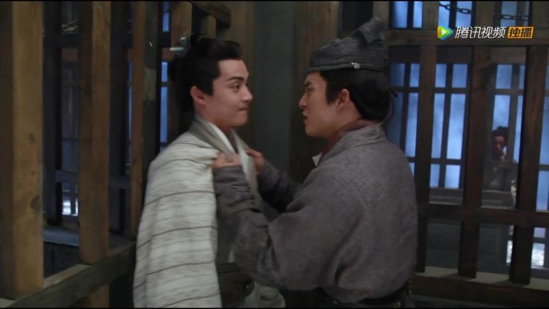 "БТС к 27 серии 三国幕后剧场 韩东君 动粗"",马天宇超委屈~"
