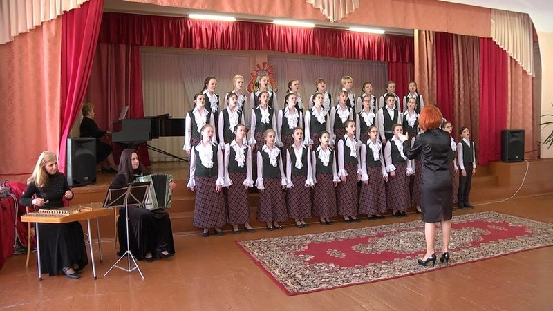 Хор гимназии №2 Пинска стал победителем областного этапа конкурса «Спяваем разам»