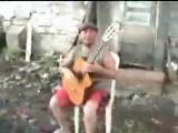 Грузин ХВИЧА во дворе