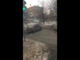 ДТП в Перми на перекрестке. 18.12.17