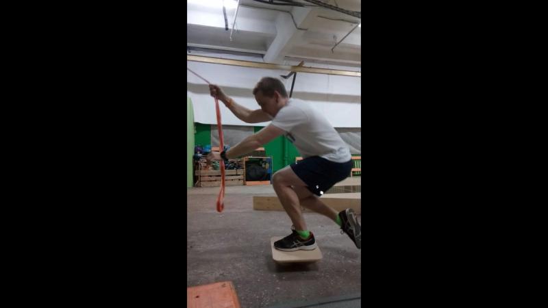 Onefoot squat