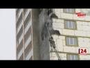 На Николо Березовском шоссе загорелась новостройка