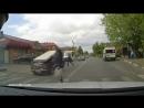 Дурацкие аварии водителей неудачников