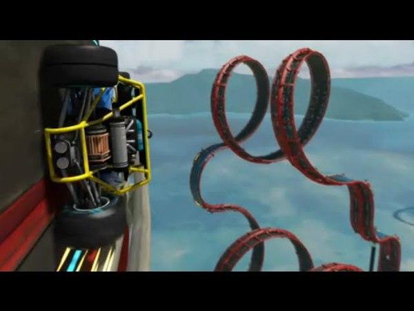 Trackmania Turbo Crazy Roller Coaster Hot Wheels Track