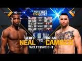 FIGHT NIGHT AUSTIN Geoff Neal vs Brian Camozzi