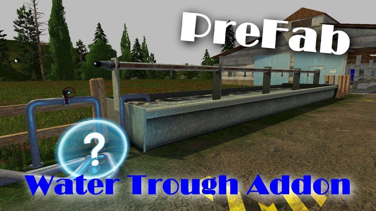 WATER TROUGH ADDON (PREFAB) V1.0.0.0