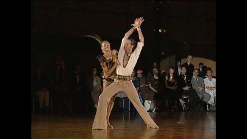 Maxim Kozhevnikov Yulia Zagoruychenko Show Dance Bird WSSDF2006