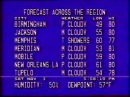 Weather Channel Local Forecast 1990