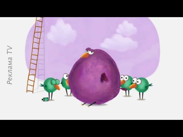 Реклама Фокстрот копійчужки (толстая птица) 2015. Копейчужки. Копийчужки