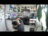 TIMELAPSE Оклейка фасада кухни пленкой с фотопечатью (GoPro 3+)