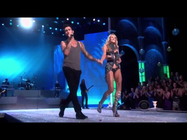 Victorias Secret Fashion show 2011 Anne Vyalitsyna Adam Levine Moves like Jagger (Live HD)