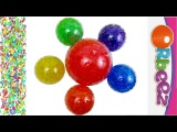 Orbeez Rainbow Surprise Eggs Peppa Pig Super Mario Toy Story Teletubbies Minions