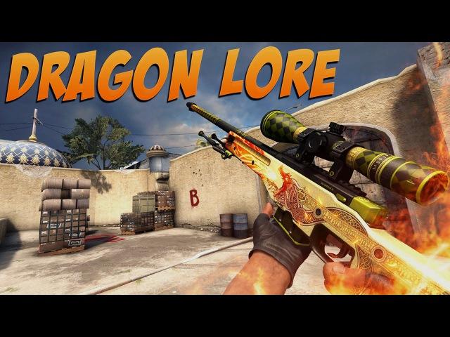 CS GO AWP Dragon Lore Gameplay