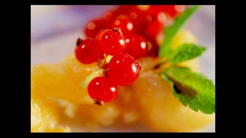 Как приготовить фрукты в карамели. Рецепт - Основной инстинкт. Выпуск 4