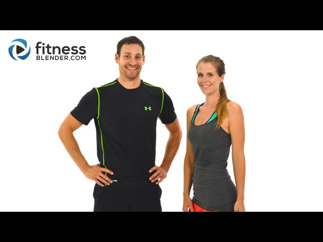 FitnessBlender - Day 3. Challenge to Burn Fat and Build Lean Muscle. HIIT Cardio Abs