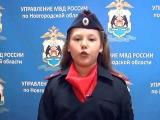 Алена Назарова (УМВД России по Новгородской области)