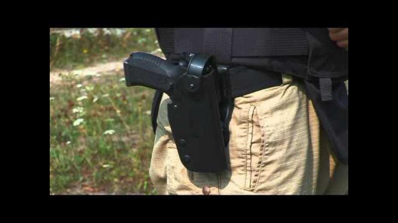 Автоматическая кобура для пистолета