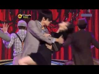 шикарный танец Чон Мина))) (we no speak americano) ТВ 640
