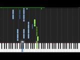 Radioactive - Imagine Dragons Piano Tutorial (Synthesia)