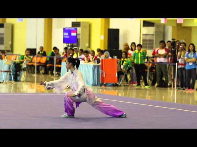 AUG 2014 : Women's Wushu Taijiquan (Lindswell Kwok Gold Medal Performance)